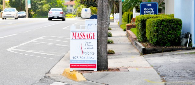 Massage-Therapist-Sign-for-Balance-Orlando-Edgewater-College-Park-Florida